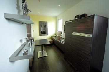 Appartement, Blick in den Wohnbereich
