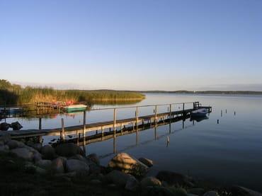 Krummin-Neeberg / der kleine Fischerhafen im Nachbarort