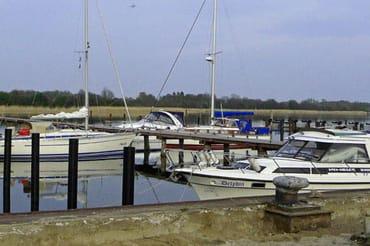 Yachthafen bei Gustow