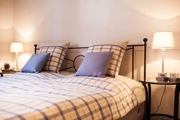 erstes Schlafzimmer - Doppelbett