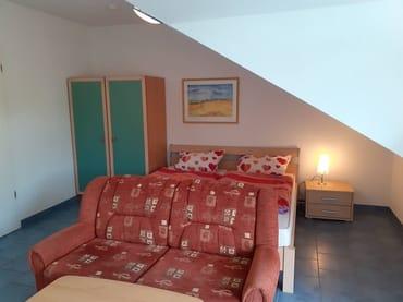 Wohnen3 mit Doppelbett
