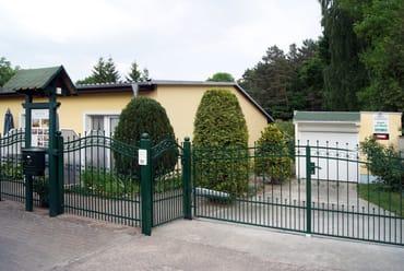 """Eingangsbereich zum Haus """"Am Wald"""""""