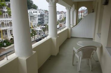 Loggia Wohnung 9 vergleichbar mit Wohnung 5
