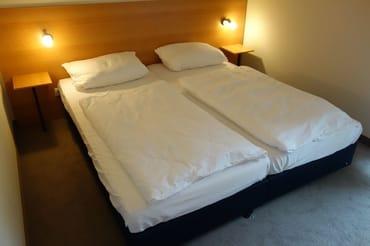 Schlafzimmer 1 Doppelbett 180 cm * 200 cm Wohnung 7