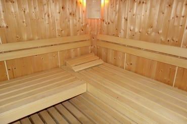 Sauna für alle Gäste kostenlos