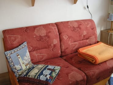 Couch im Wohnbereich