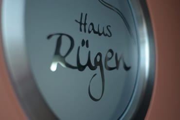 Das Haus Rügen empfängt seine Gäste stilecht.