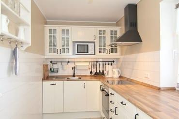 komfortable Küchenausstattung