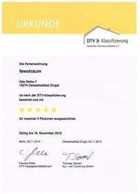DTV Klassifizierung 2015