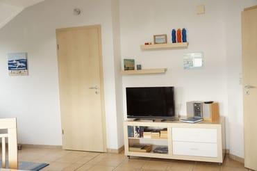 Fernseher im Wohnzimmer