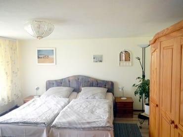 Schlafzimmer für 2 Personen.