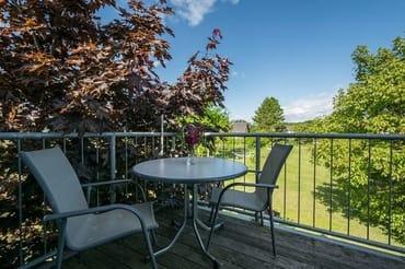 Balkon zum Garten