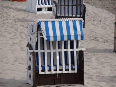 Strandkorb im September 2020 inklusive