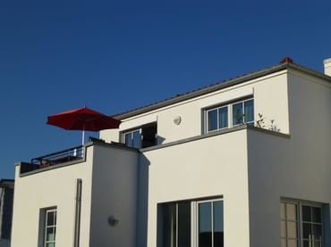 Die Villa Antje mit der Sonnenterrasse