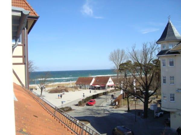 Haus Ostseeblick mit MEERBLICK von Wohn- und Schlafzimmer