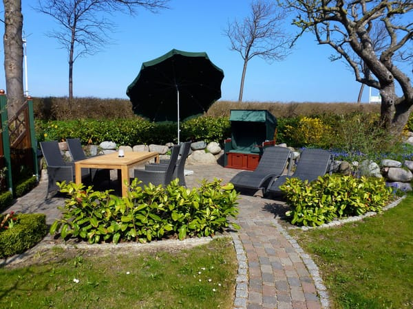 Sitzecken im Garten
