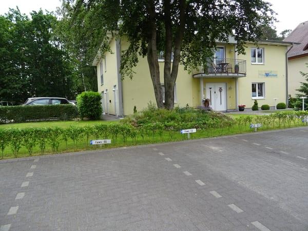 Parkplätze Villa