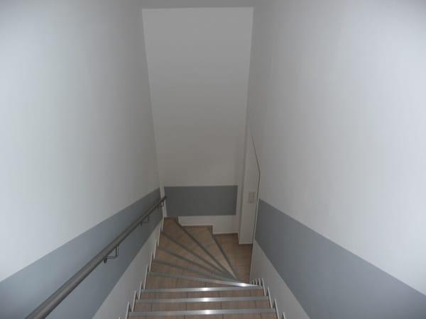 Treppe zur Fewo OG