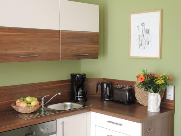 Küche mit vollwertiger Ausstattung