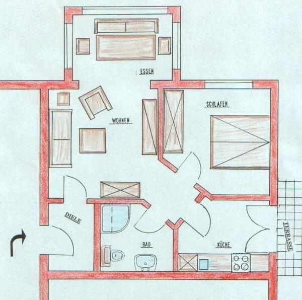 Ferienwohnung Haus Vincent Zinnowitz: Exkl Fewo. , 2-4. Pers. Strandnah ;ruhig