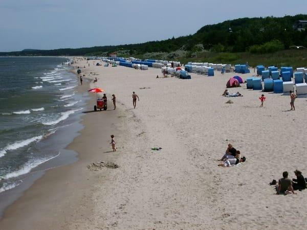 Strand im Ostseebad Zinnowitz