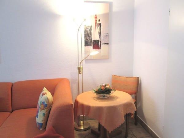 ... und noch eine gemütliche Einzelplatzlösung im Wohnraum