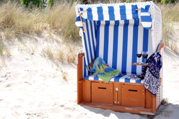 Wohnungseigenen Strandkorb