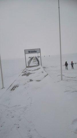 Dranske im Winter