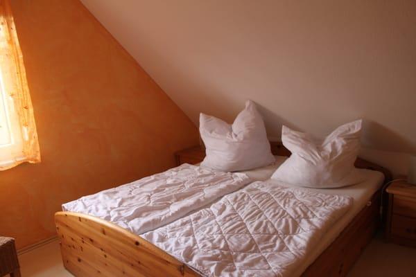 Bildausschnitt vom  zweiten Schlafzimmer