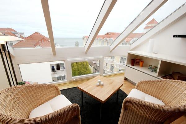 Lounge mit einem schönen Blick