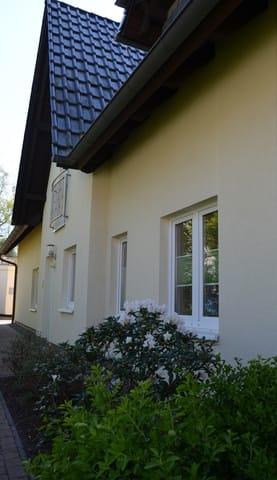 Ferienhaus Vincent, Hauseingang