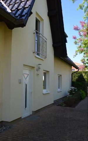 Hauseingang Ferienhaus Vincent