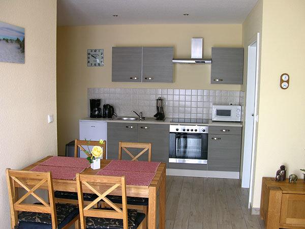 Wohnzimmer-Küchenzeile