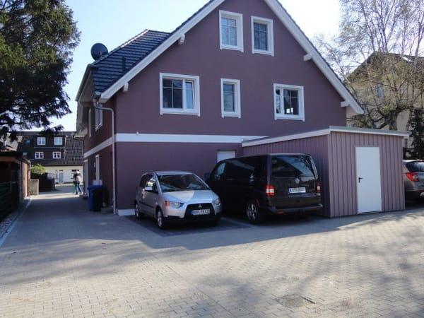 Parkplatz am Haus