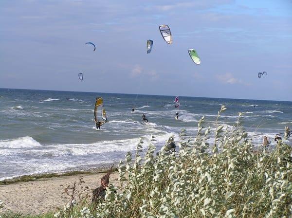 Wassersport auf der Ostsee