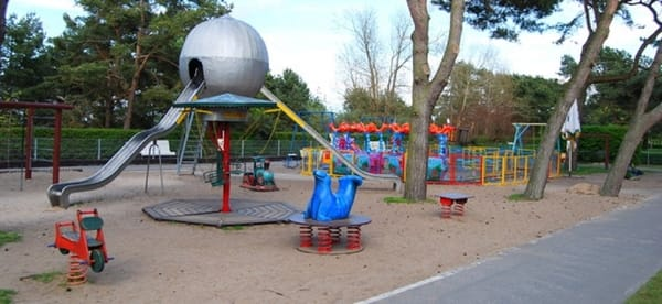 Kinderspielplatz auf der Strandpromenade Zinnowitz