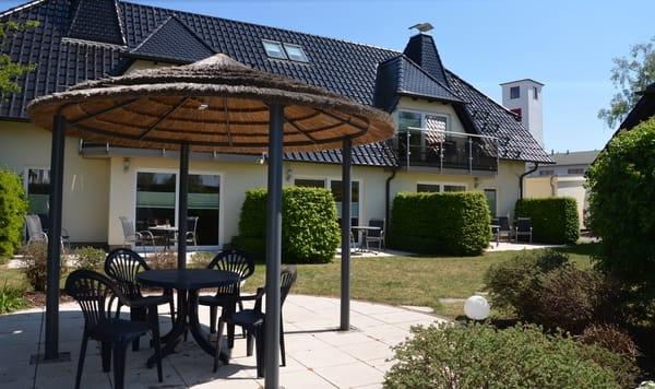 Grundstück mit Grillpavillon für unsere Gäste