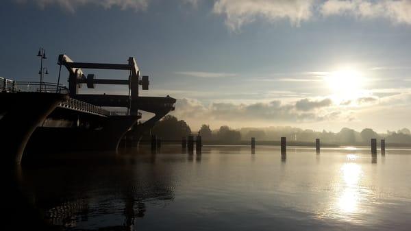 "Peenebrücke Wolgast ""Tor zur Insel Usedom"""