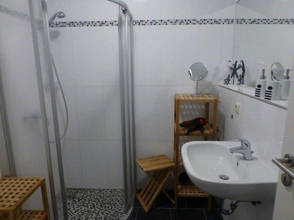 Blick in das Dusch - Bad