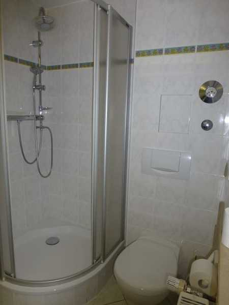 Duschbereich im Bad