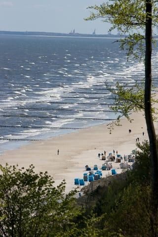 Blick von der Steilküste