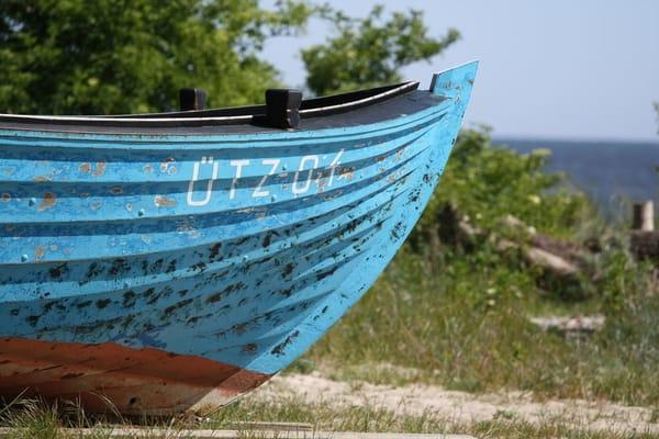 Fischerboot in Ückeritz