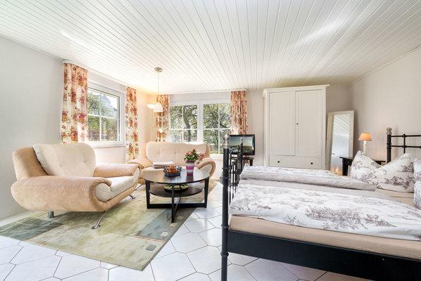Das geräumige Ferienhaus bietet Platz für 2 Personen.