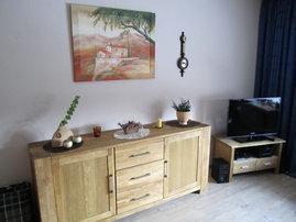 Wohnzimmer mit LED TV