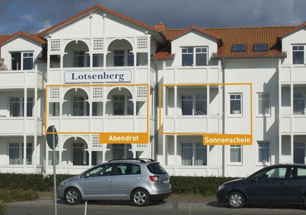 Haus Lotsenberg Ferienwohnungen Sonnenschein und Abendrot