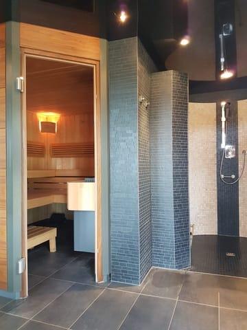 Sauna/Infrarotkabine sowie Saunadusche