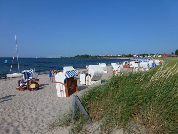 Strandleben in Glowe