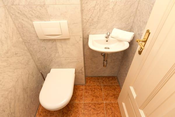 Das Gäste-WC.