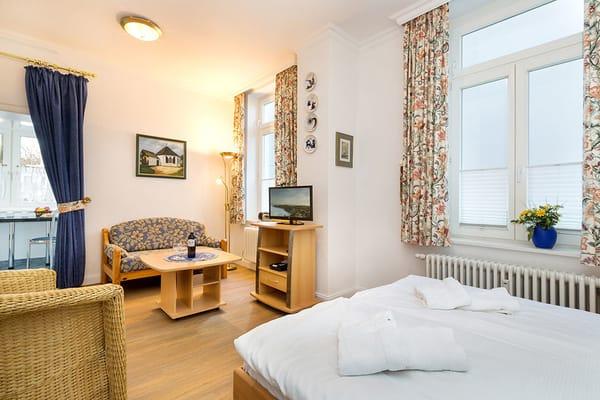 WLAn ist im Appartement kostenfrei verfügbar.