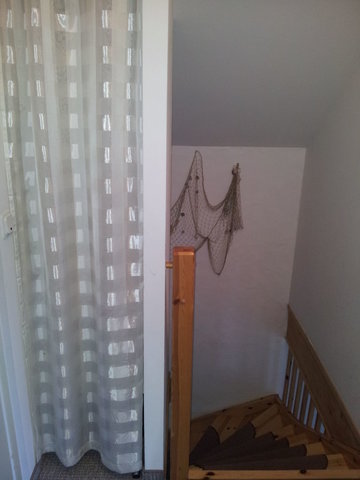 Treppenaufgang zum Schlafzimmer